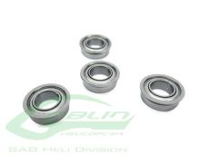 ABEC-Flanged Bearing 5x13x4-4pcs-G420,500